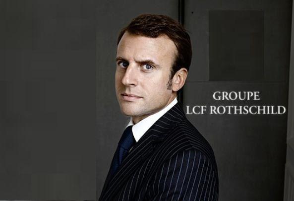 Emmanuel MACRON, le candidat du FRONT PATRONAL
