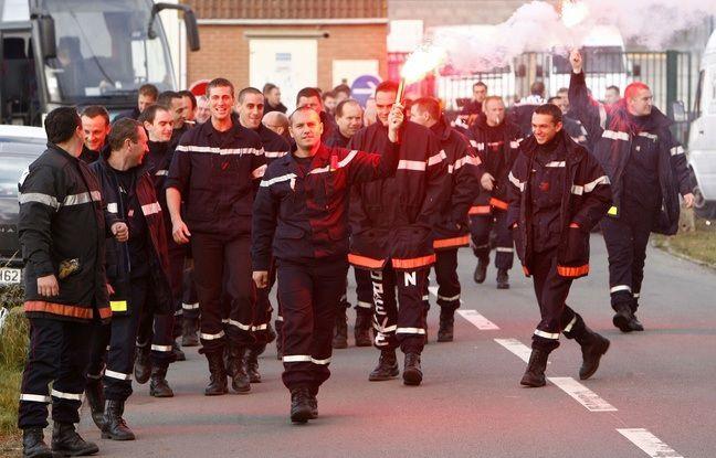 Les pompiers du Pas-de-Calais en grève. - M.Libert / Archives 20 Minutes