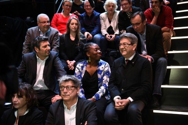 Jean-Luc Mélenchon avant le débat TV sur TF1 le 20 mars 2017 (source photo: Bourse Direct)