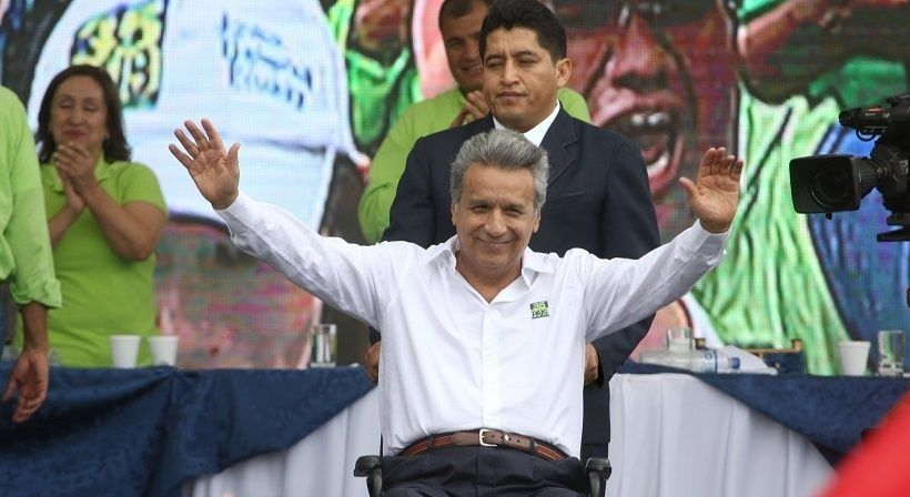 Lenin Moreno (source photo : telesur)