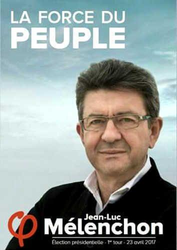 Jean-Luc MÉLENCHON: l'affiche apaisée