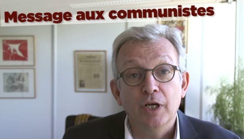 VOTONS Jean-Luc MÉLENCHON : Le message aux communistes de Pierre Laurent