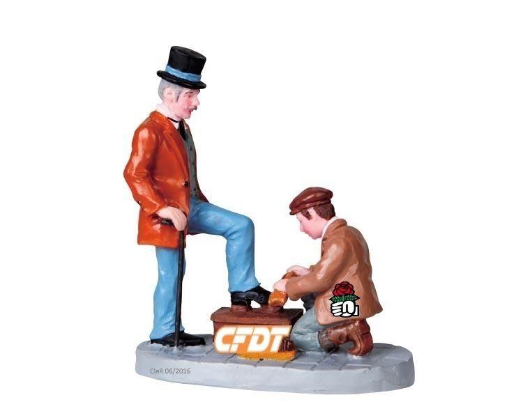 Le ban et l'arrière ban de la CFDT ... au secours de l'oligarchie !