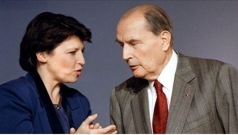 Photo d'illustration ; Martine Aubry avec François Mitterrand (source photo:  Le Nouvel Observateur)