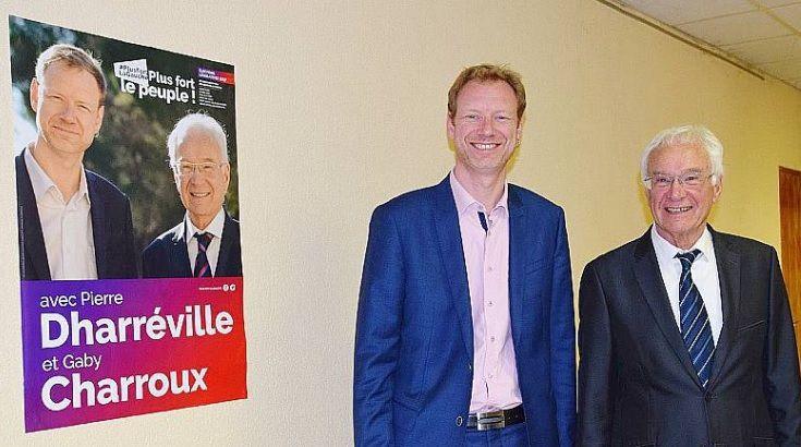 Dans la 13ème circnscription des Bouches-du-Rhône, Pierre  Pierre Dharréville et  Gaby Charroux (suppléant) sont les candidats présentés par le PCF