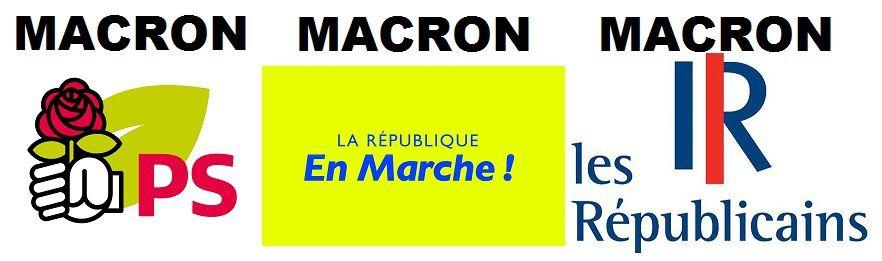 MACRON : l'homme qui a TROIS candidats par circonscription !