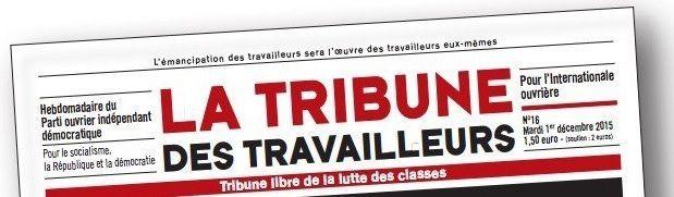 """Après les législatives : Nécessaire reconstruction (éditorial de """"la Tribune des travailleurs"""" du 31 mai 2017)"""