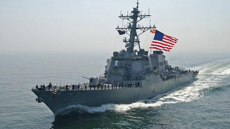 L'USS Mahan (DDG-72) américain dans la Baltique (source: U.S. European Command)
