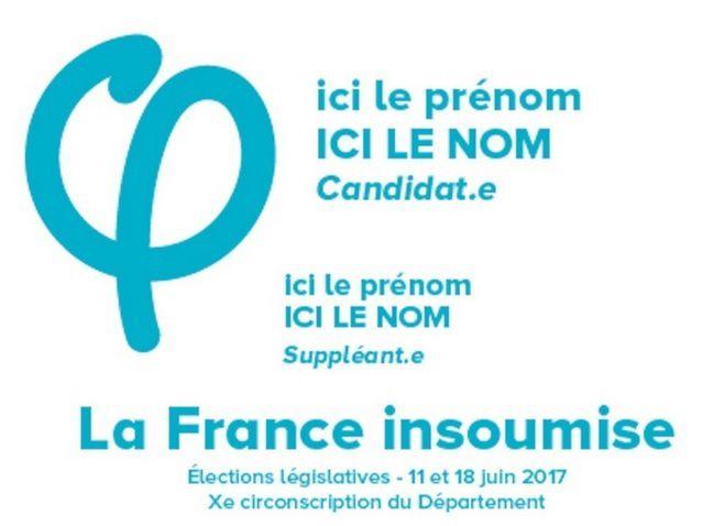 Voici à quoi ressemble un bulletin de vote de la France insoumise