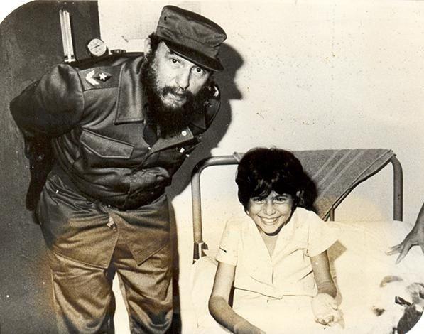 Fidel Castro faisait des visites fréquentes dans les hôpitaux pour s'enquérir de l'état de santé des patients atteints de dengue hémorragique. Photo: Archives
