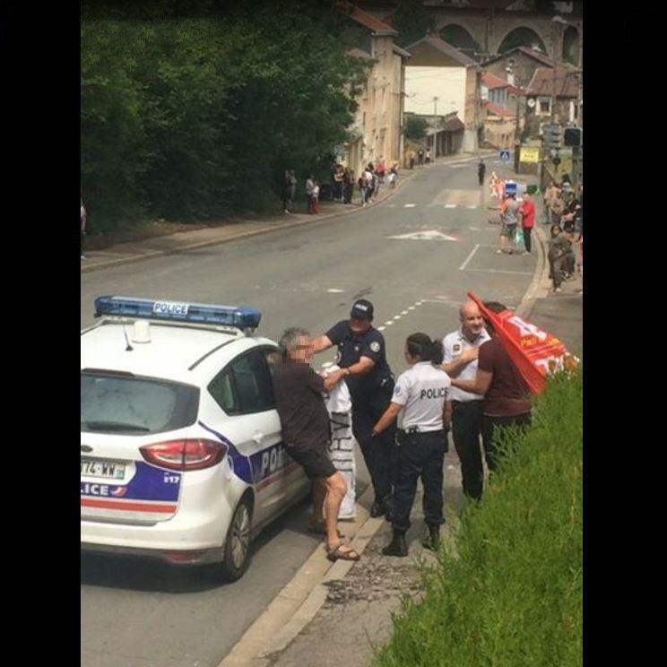 Capture d'écran Facebook (source : RT France)
