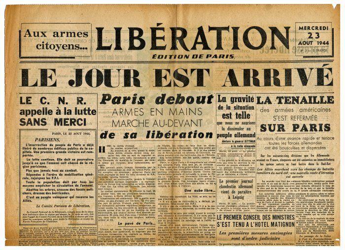 47ème anniversaire de la Libération de Paris