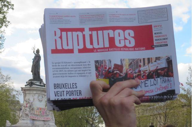 Le mensuel « RUPTURES » : bilan et perspectives…