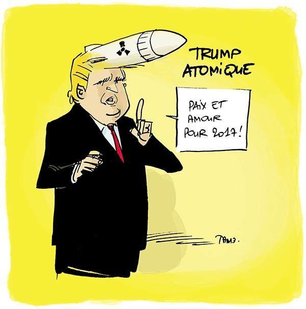 GUERRE ou PAIX - Après la déclaration de TUMP à l'ONU : plus que jamais exigeons le retrait de la FRANCE de l'OTAN (par Jean Lévy)