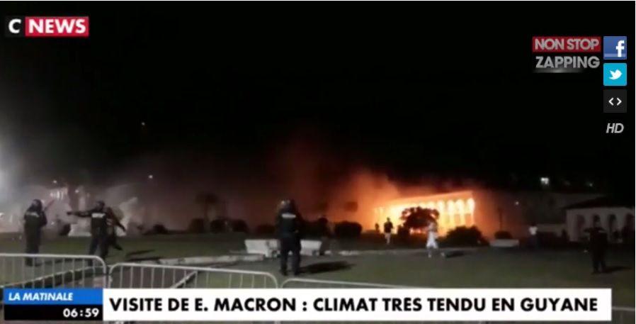 capture d'écran : CNews