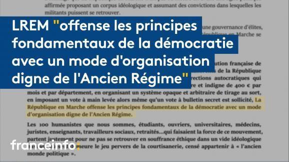 « Un mode d'organisation digne de l'Ancien Régime » : 100 militants de LREM quittent Macron et son parti