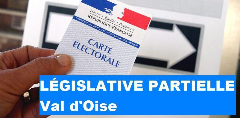 LÉGISLATIVE partielle dans le VAL D'OISE : 80 % d'abstention - La candidate de Macron perd plus de 6 % - Forte progression de LR- Important recul du FN - Léger progrès de La France Insoumise