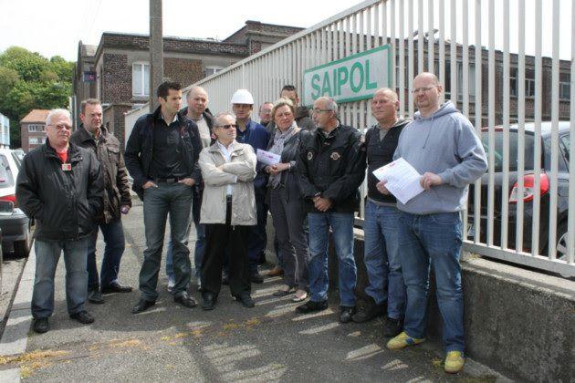 En 2013, l'UL CGT de Dieppe était venue soutenir les salariés en grève