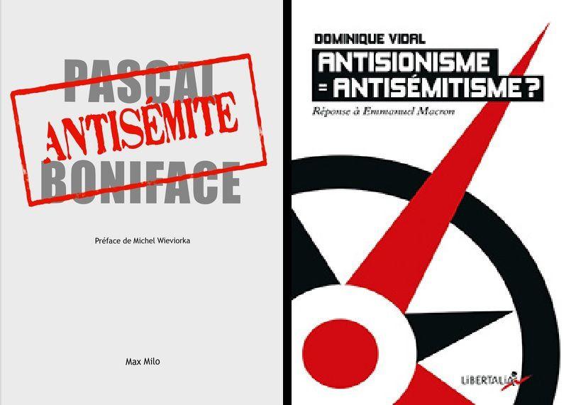 La critique de la politique d'Israël est-elle encore possible aujourd'hui ? DÉBAT avec Pascal Boniface et Dominique Vidal le 12 mars 2018 à Paris