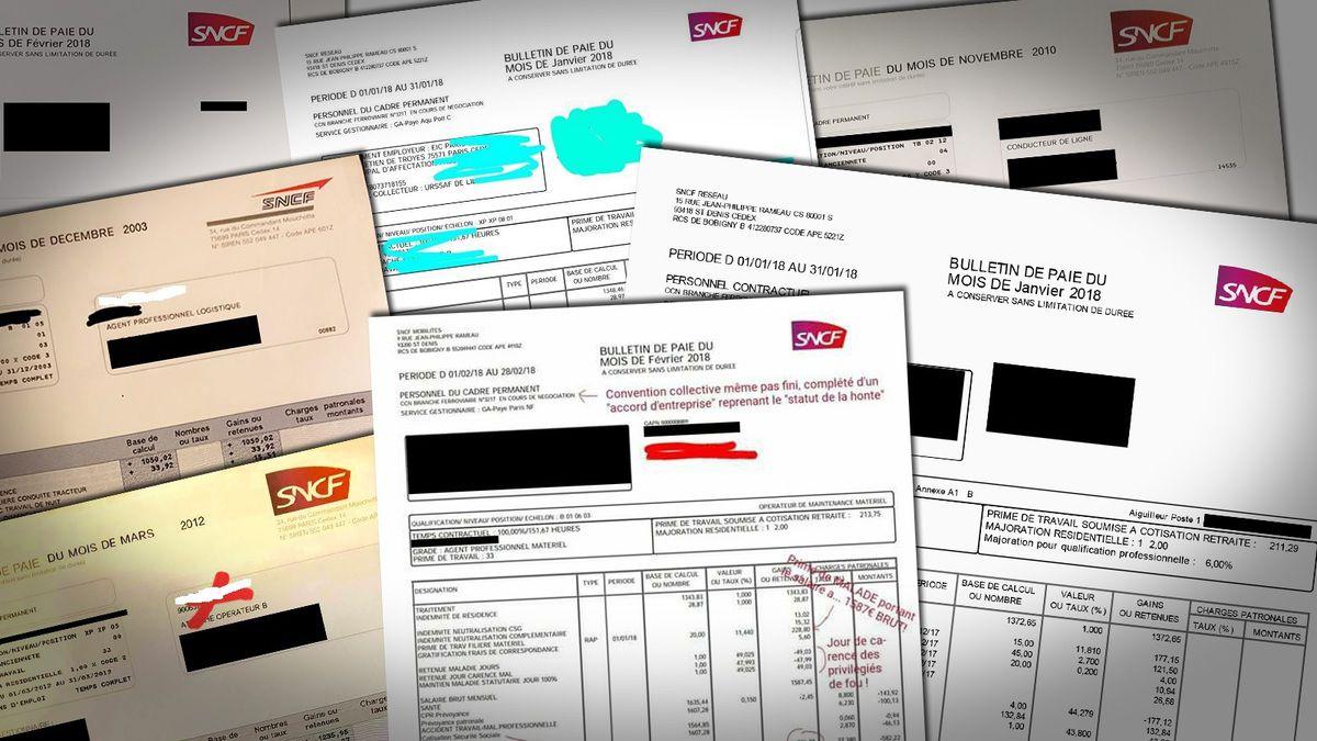 SNCF : HALTE À L'INTOX MÉDIATIQUE ! Ces 13 bulletins de paie de cheminots qui ne vous feront pas rêver