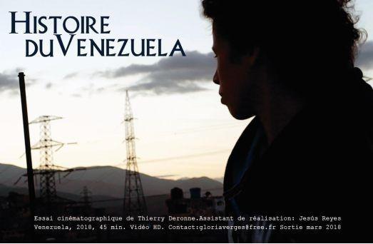 Projection-débat « Histoire du Venezuela» : mardi 27 mars 2018 à 18h30 à Paris-Tolbiac