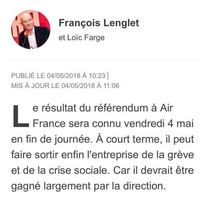 """La clairvoyance de François Lenglet (""""l'expert"""" économique de France) a encore fait ses preuves."""