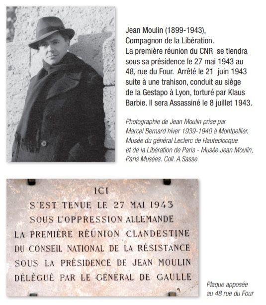 27 mai 1943 – 27 mai 2018 : 75ème anniversaire de la première réunion du Conseil National de la Résistance, CNR.