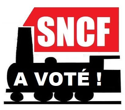 VOT'ACTION à la SNCF : 94,97% des votants contre la réforme du gouvernement (taux de participation : 61,15%)