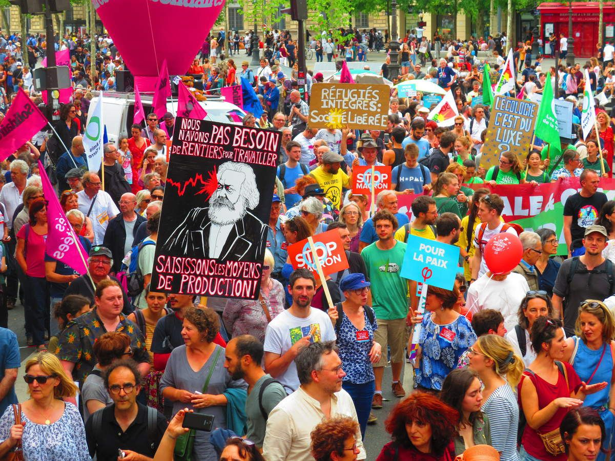 La MARÉE POPULAIRE, le 26 mai à Paris [Les photos d'El Diablo]