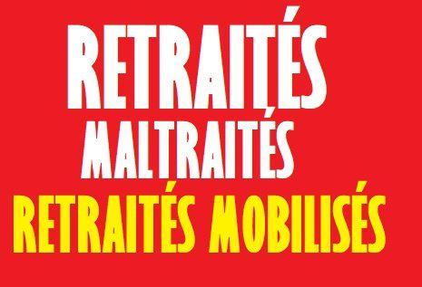 CSG, blocage des pensions : ça suffit ! LES RETRAITÉS MANIFESTENT JEUDI 14 JUIN 2018 [à Paris Place de l'Opéra à 14 h30 en direction de la République]