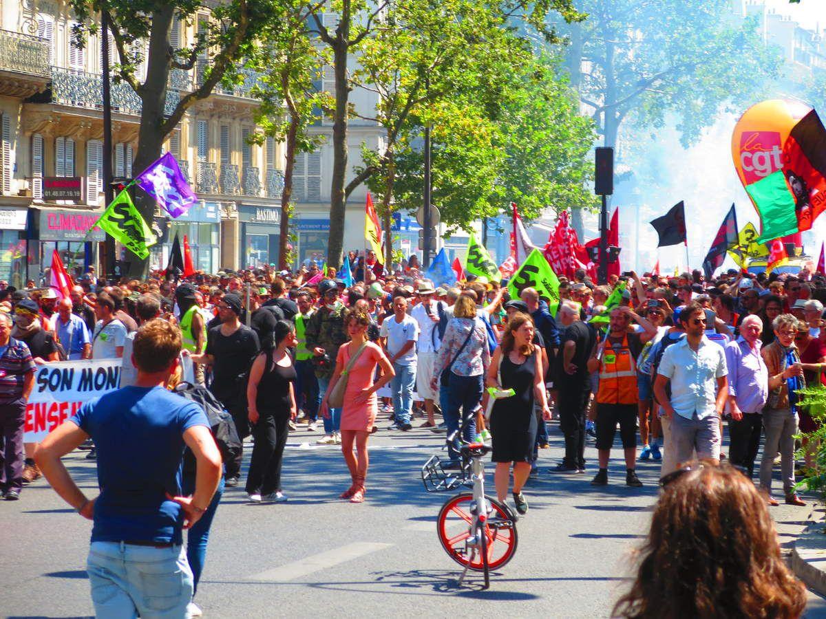 PARIS entre Bastille et République le 28 juin 2018 [les photos d'El Diablo]