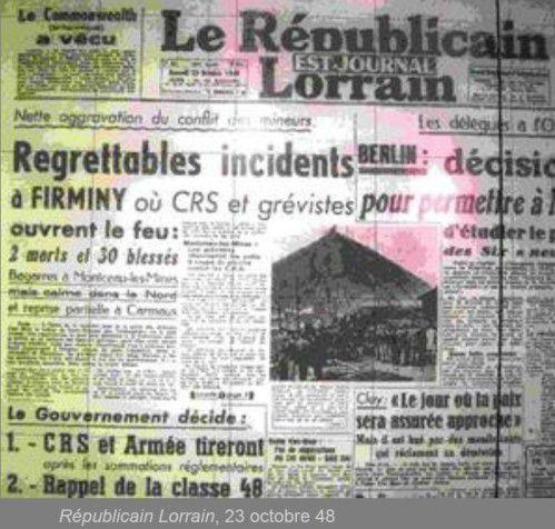 1947-1950…VIOLENCE D'ÉTAT et social-démocratie