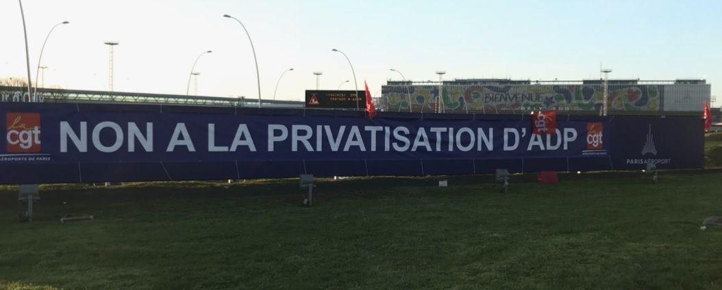 NON à la PRIVATISATION d'ADP (AÉROPORTS DE PARIS) !