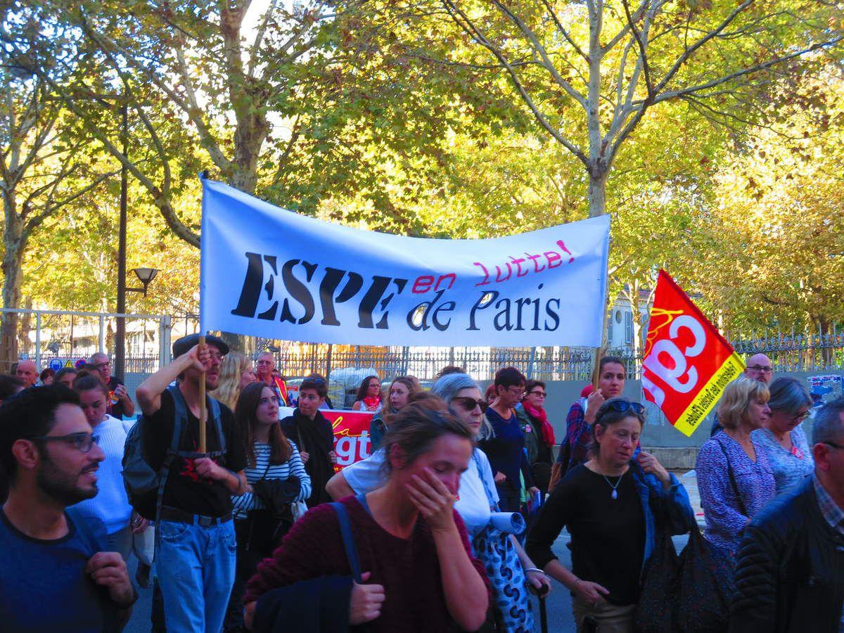 PARIS entre Montparnasse et Place d'Italie le 9 octobre 2018 [Les photos d'El Diablo]