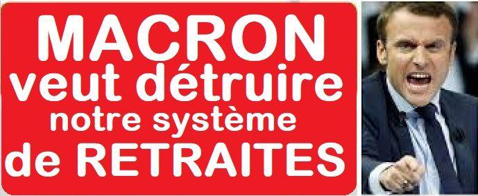 SALARIÉS c'est l'alarme: MACRON veut DÉTRUIRE notre système de RETRAITES !