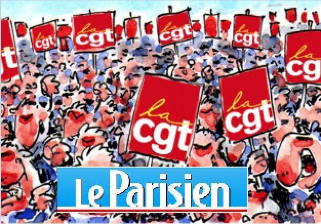 CGT EN LUTTE - Lutte gagnante au journal « Parisien »