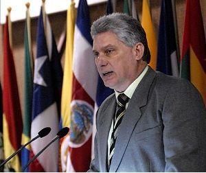 Miguel Diaz-Canel , le président cubain