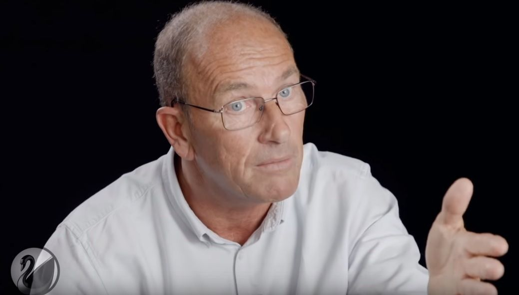Étienne Chouard (capture d'écran Thinkerview)