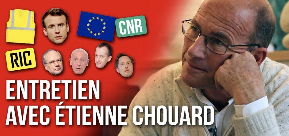 Gilets jaunes, Macron, Union européenne, médias mainstream…L'ENTRETIEN avec Étienne CHOUARD