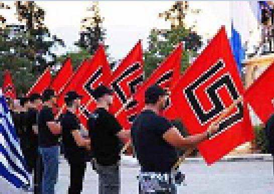 Aube dorée parti grec d'extrême-droite  (photo d'illustration)