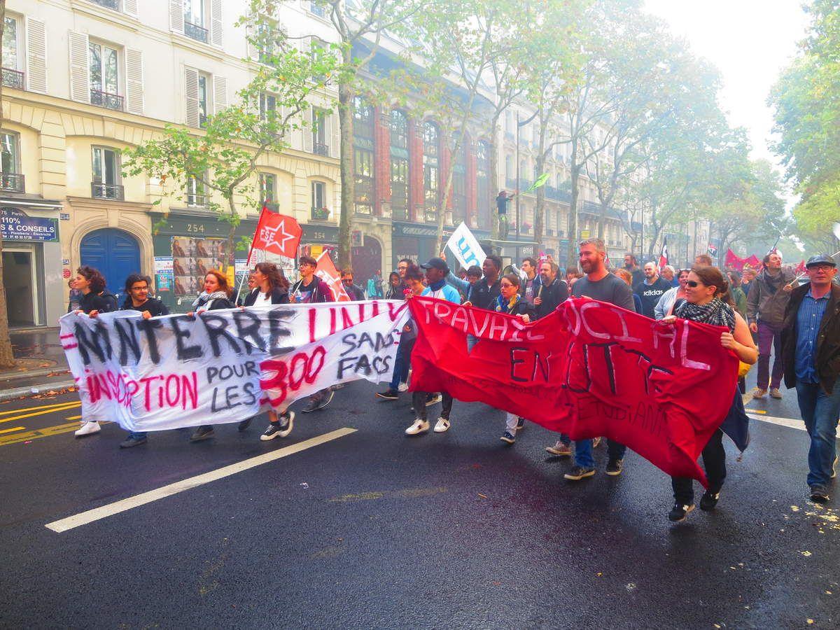 PARIS le 24 septembre 2019...Entre République et Nation - les photos d'El Diablo -