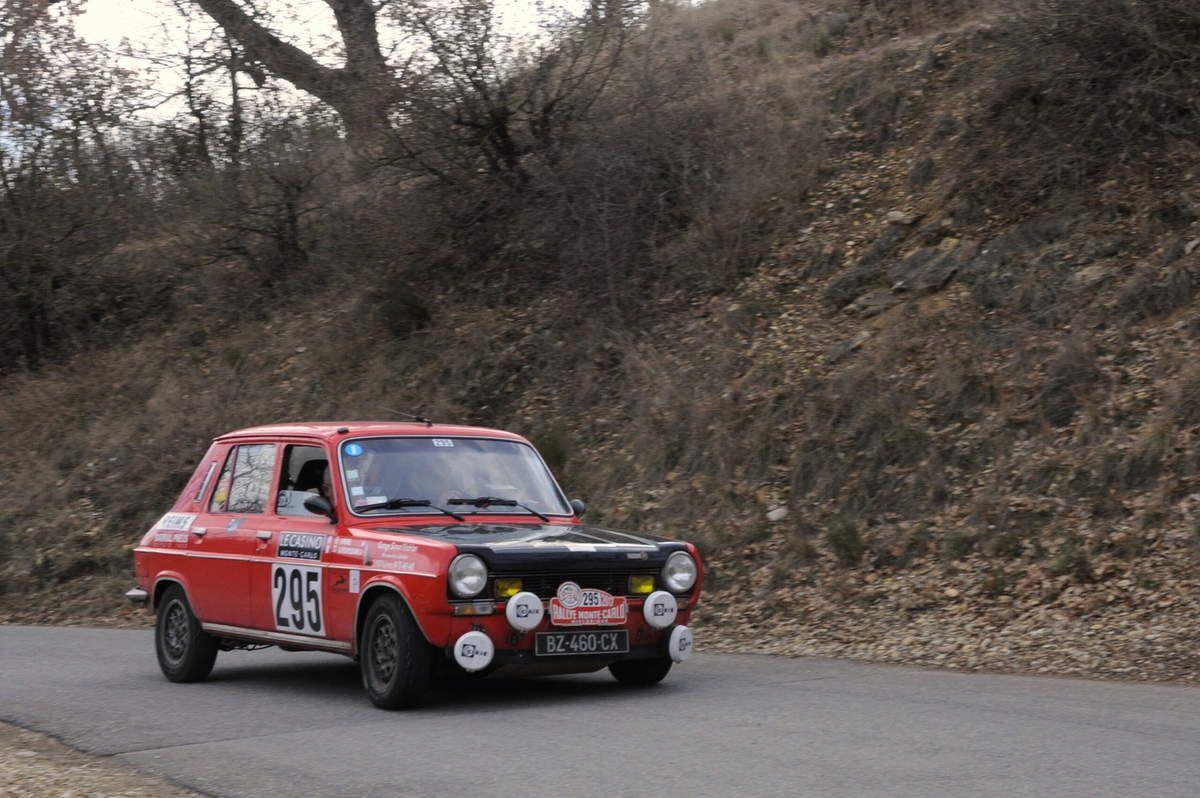 Vincent Penel(F)/André Mouriquant(F) Simca 1100 Ti 1976 ..... Photo : R.S.