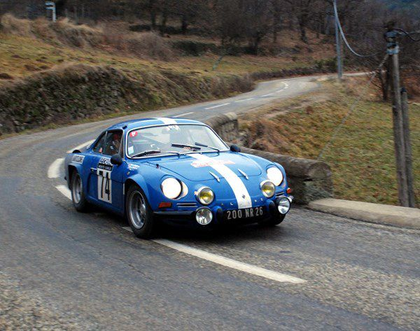 Gilles et Pierre Court(F) Alpine A110 1600 1969 ..... Photo : H.C.