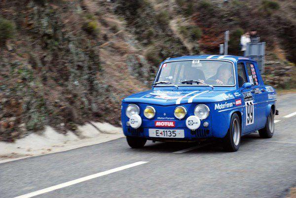 Torgjer Kleppe(N)/Henning Jorstad(N) Renault 8 Gordini 1255 1970 ..... Photo : H.C.