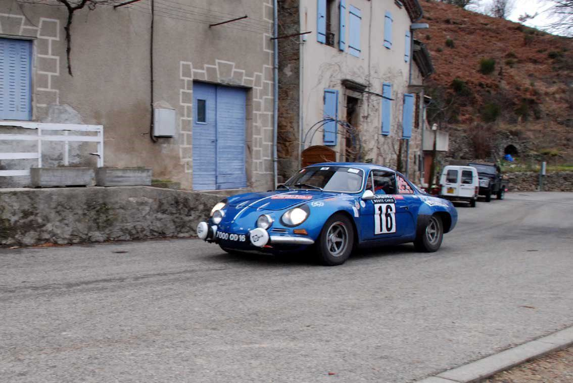 Patrice Diacono(F)/Jean-Michel Paris(F) Alpine A110 1300 S 1972 ..... Photo : H.C.