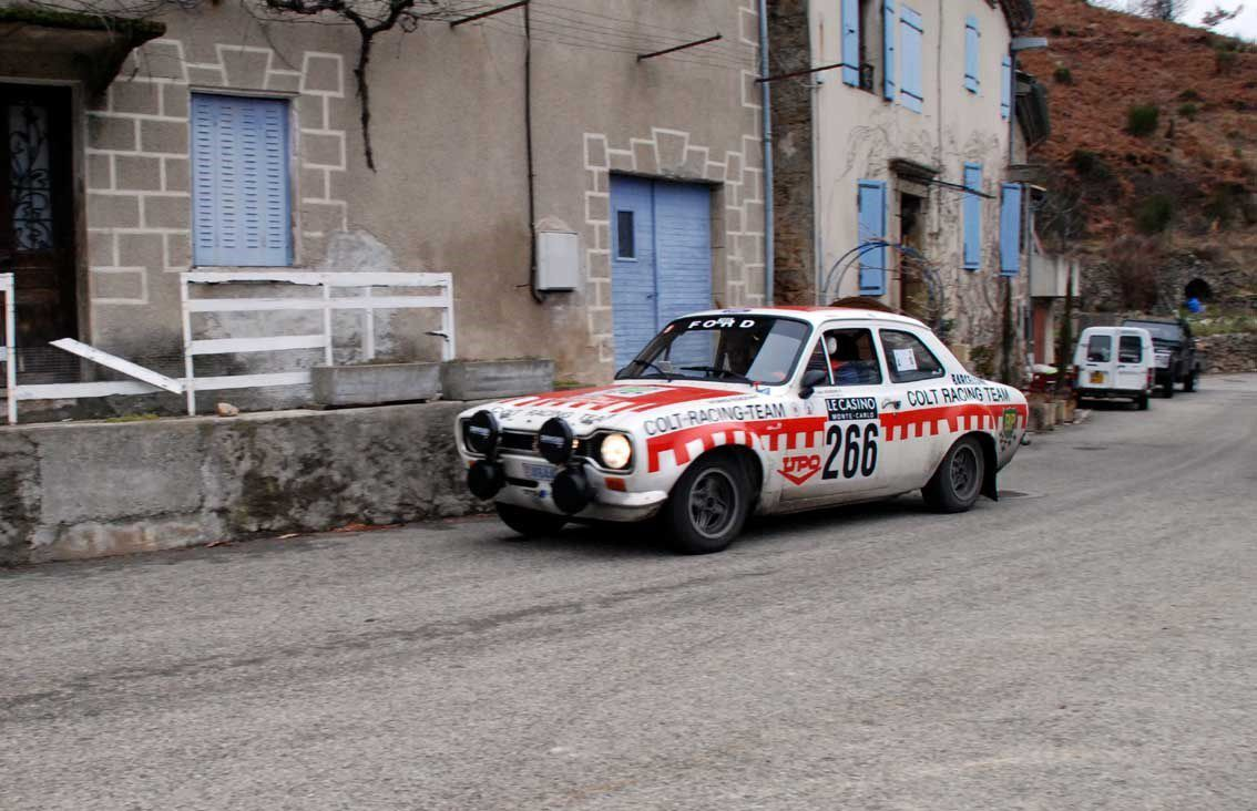 Didier Mourenon(MC)/Humbert Blanchard(CAN) Ford Escort RS 2000 Mk I 1975 ..... Photo : H.C.