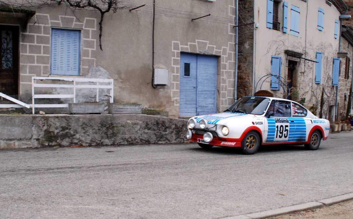 Karel Mach(CZ)/Jan Blaha(CZ) Skoda 130 RS 1976 ..... Photo : H.C.