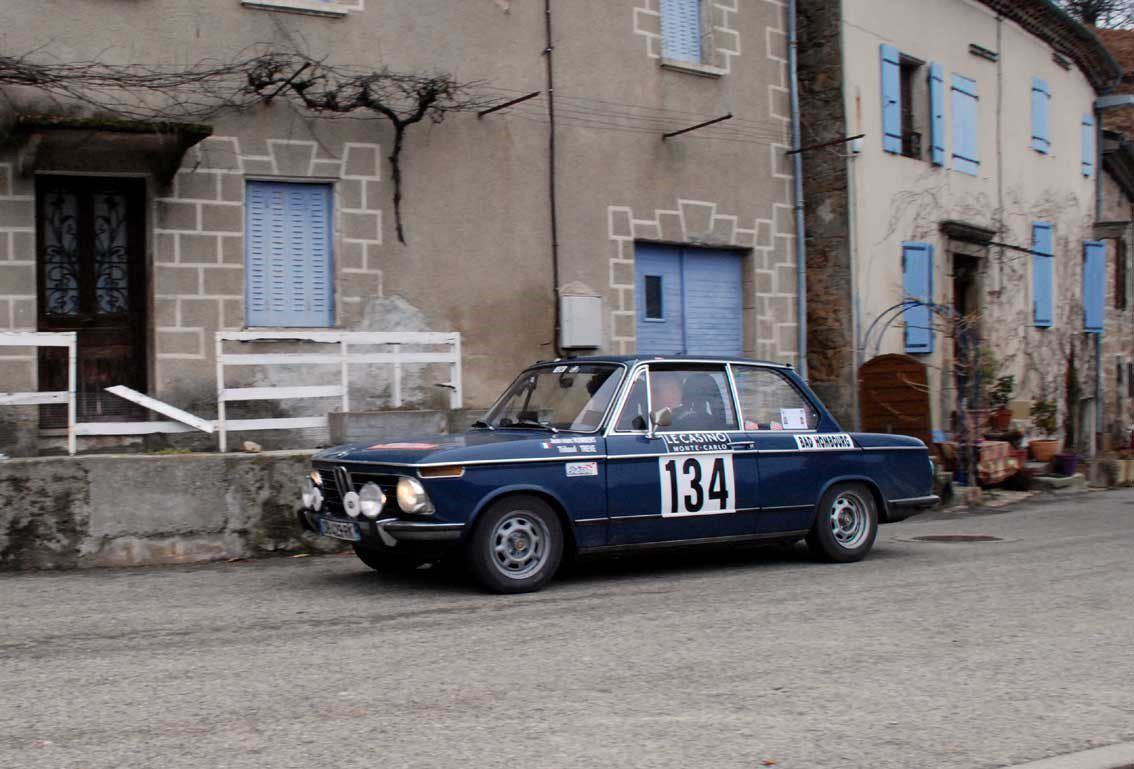 Jean-Marc Humbert(F)/Thibaud Trève(F) BMW 1802 1973 ..... Photo : H.C.