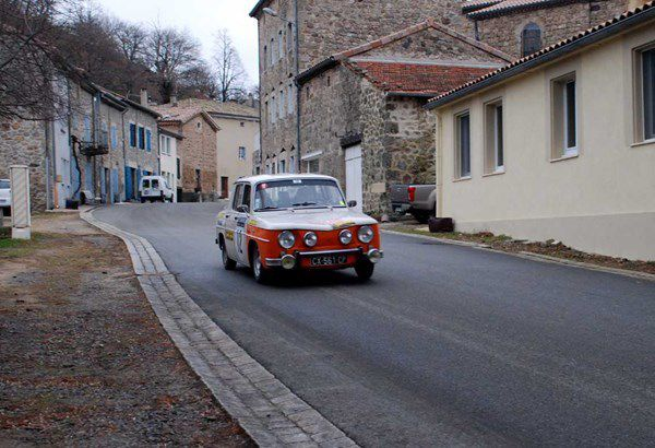 Michel Leclère(F)/Michel Duvernay(F) Renault 8 Gordini 1255 1969 ..... Photo : H.C.