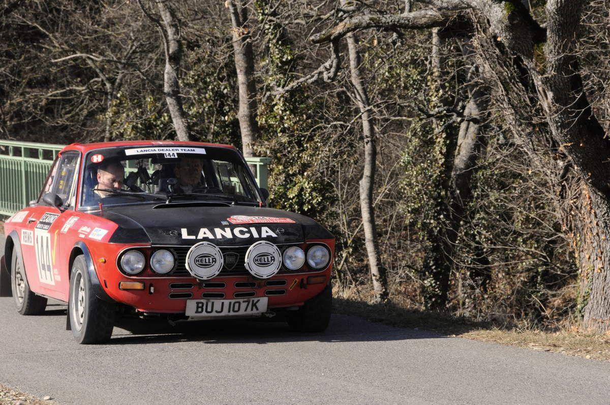 Hans Kolby Hansen(DK)/Thomas Henriksen(DK) Lancia Fulvia 1600 HF 1971 ..... Photo : R.S.